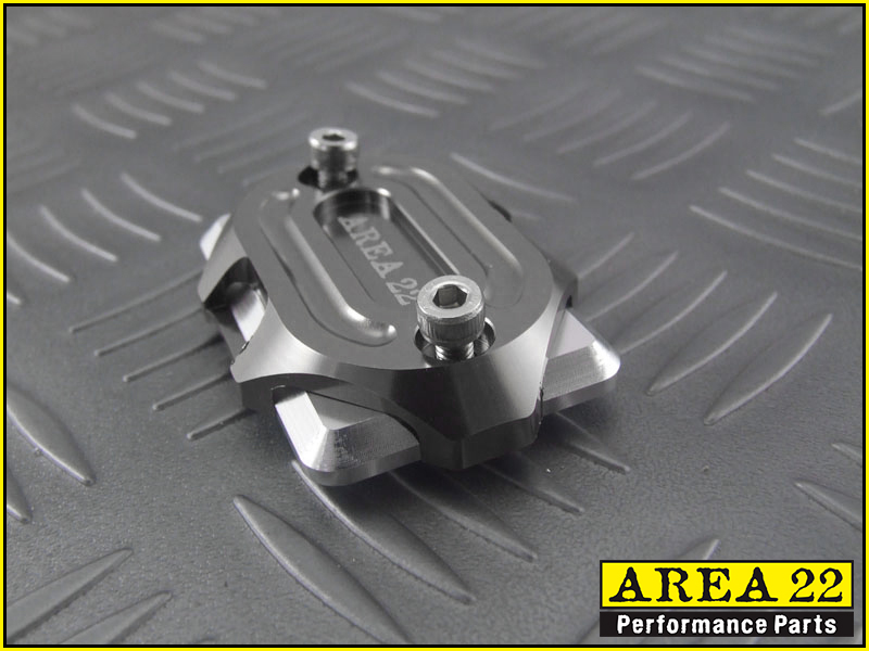 Brake Reservoir Covers : Area kawasaki z aluminum brake