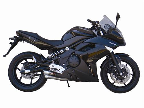 Kawasaki ER6 ER6N ER6F Versys Ninja 650R 05 11 IXIL L3X Slip On Exhaust Silencer