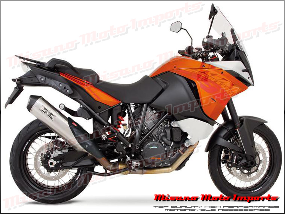 ktm 1190 adventure 2013 2016 remus hypercone slip on exhaust carbon. Black Bedroom Furniture Sets. Home Design Ideas