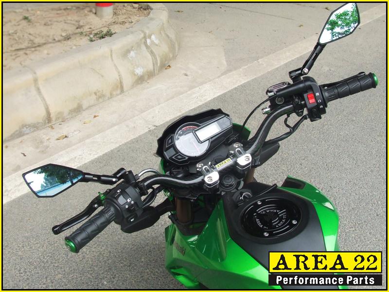 Details about Area 22 Kawasaki Pro / Z125 Z 125 2016 - 2017 Fat Handle Bar  Mounts 28mm Gold
