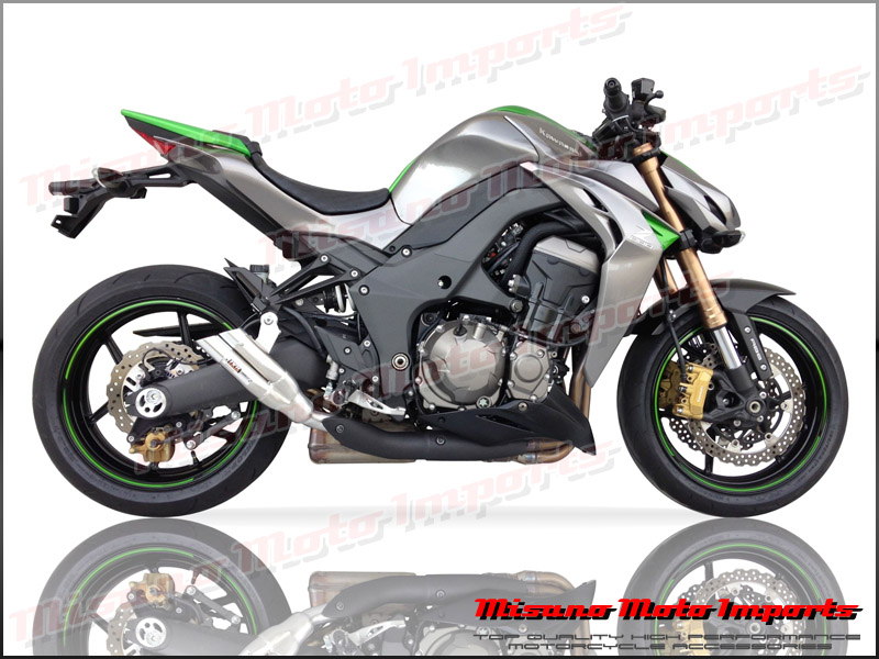 Kawasaki Z1000 Ninja 1000 10 14 Ixil L2x Dual Hyperflow Muffler