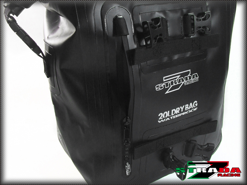 62d36e584b97 Details about Strada 7 20L Universal Dry Duffle Rear Tail luggage Bag for  KTM Motorcycles