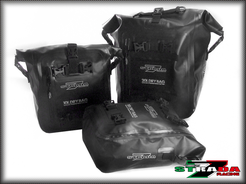 d563044a1267 Details about Strada 7 Motorcycle Combo of 1 x 20L & 2x 10L Universal 40L  Dry Duffle Tail Bag
